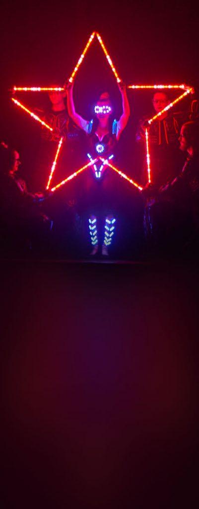epic lightshow pyroterra led light artistick show světelná show